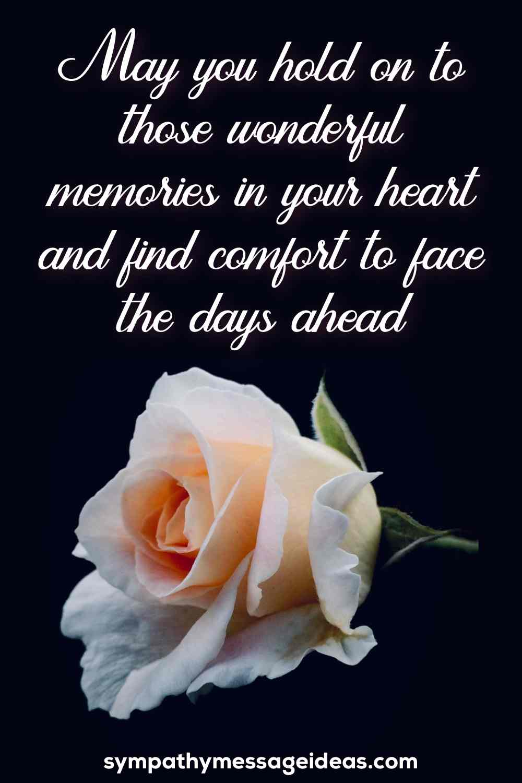 condolence message for grandson