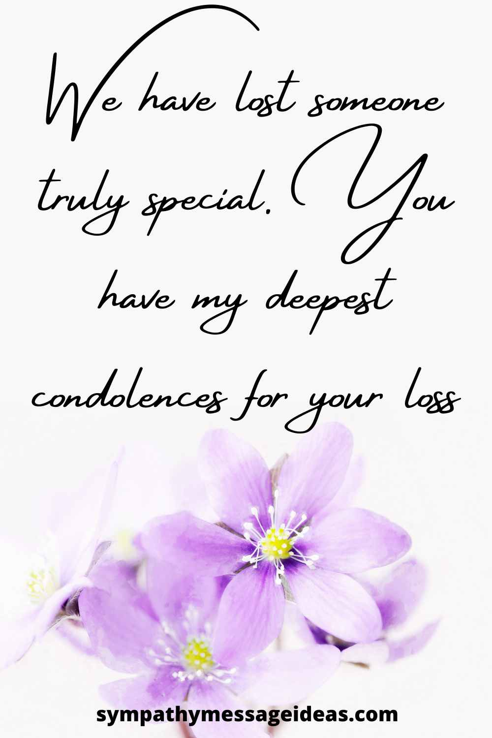 condolence message for a funeral