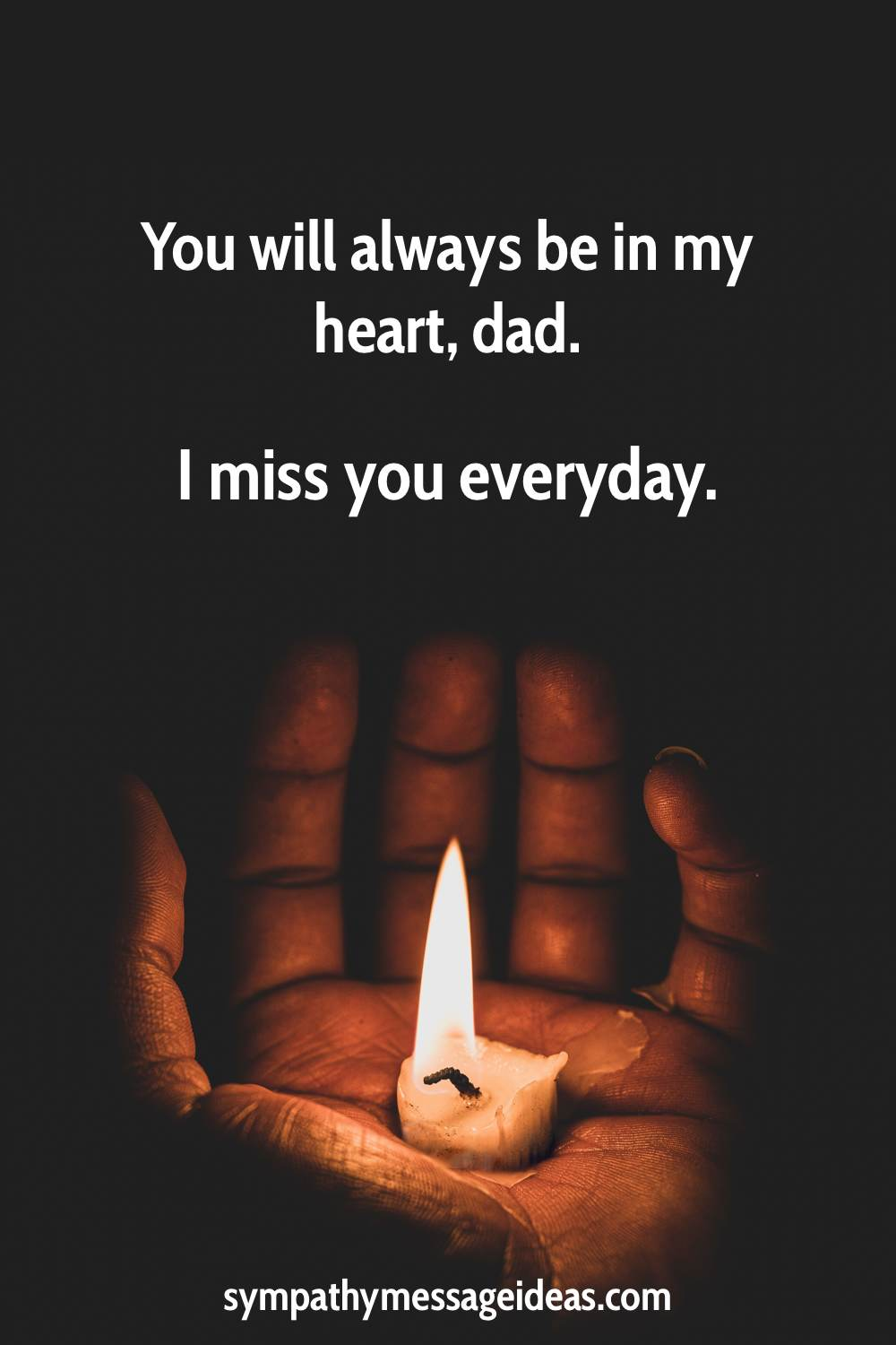 I miss you dad every day quote