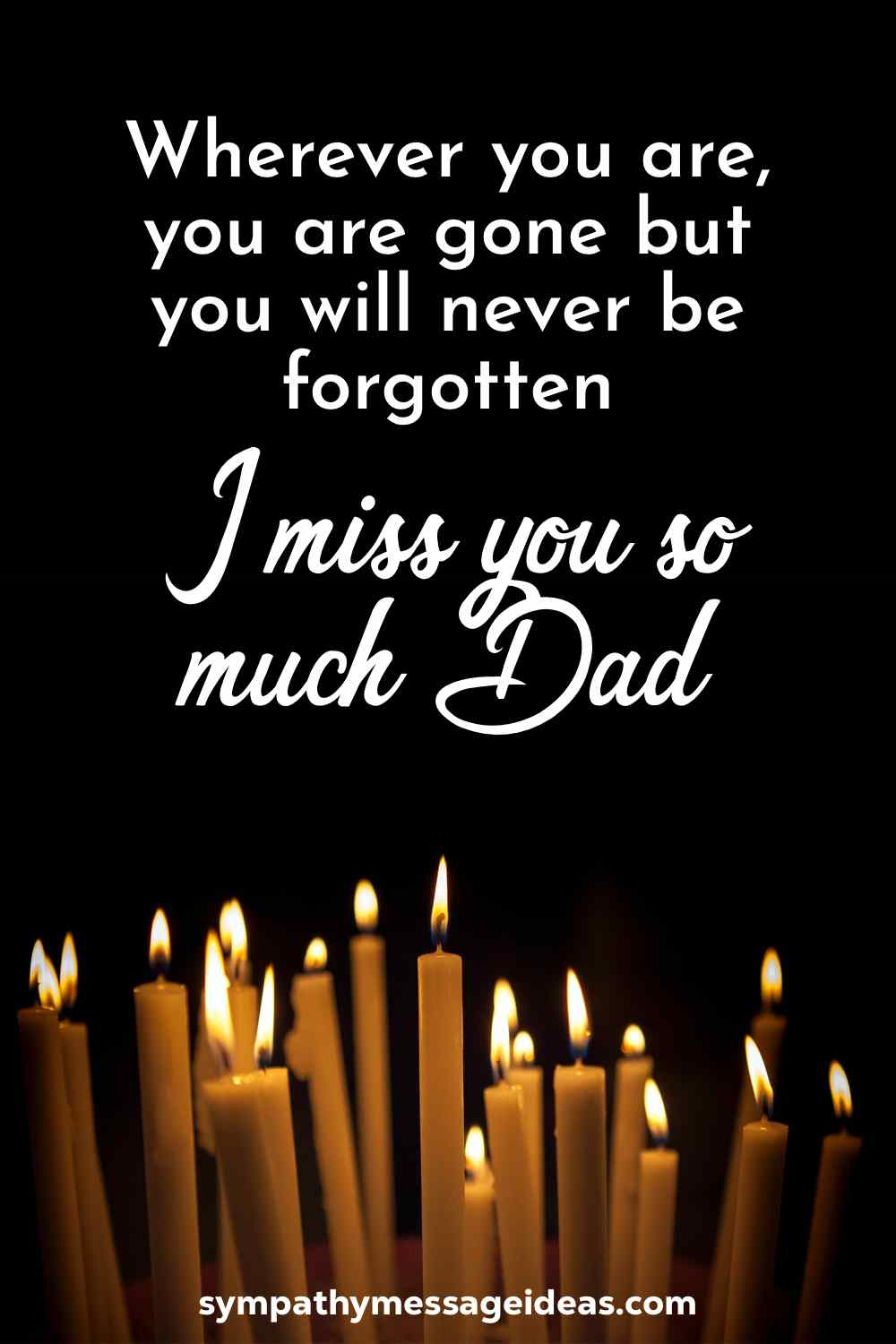 I miss you dad so much