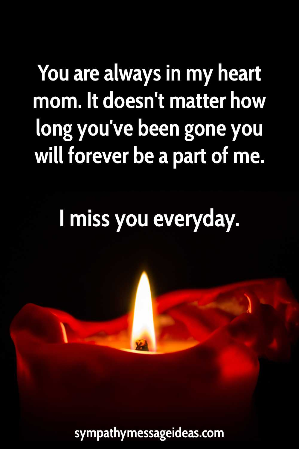 I miss you mom quote