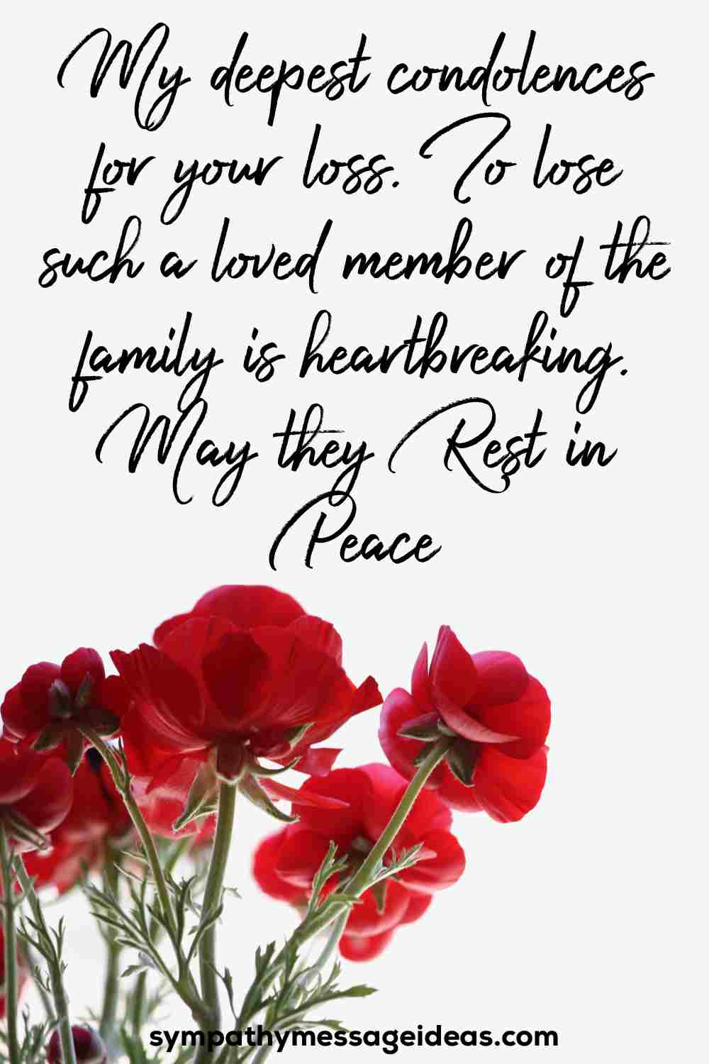 condolence message for loss of stepfather