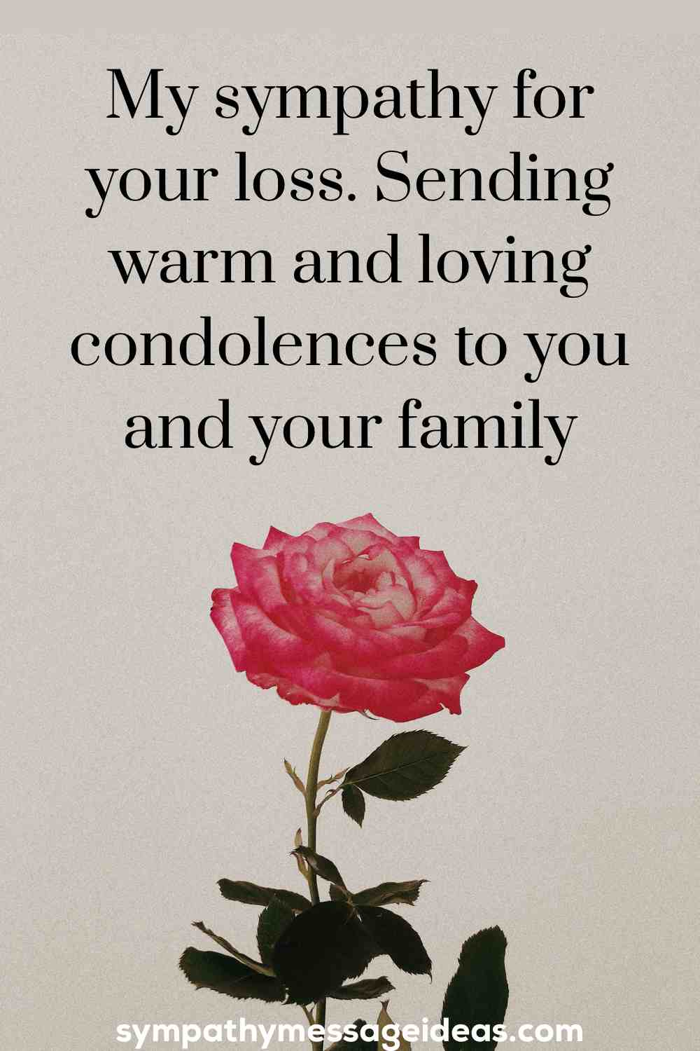 stepfather condolence message