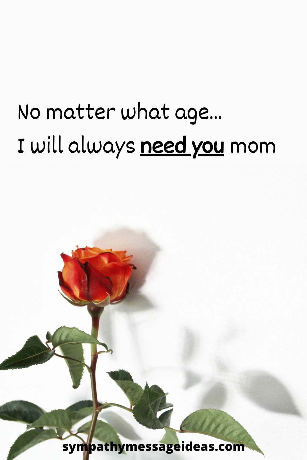sympathy quote for loss of mother