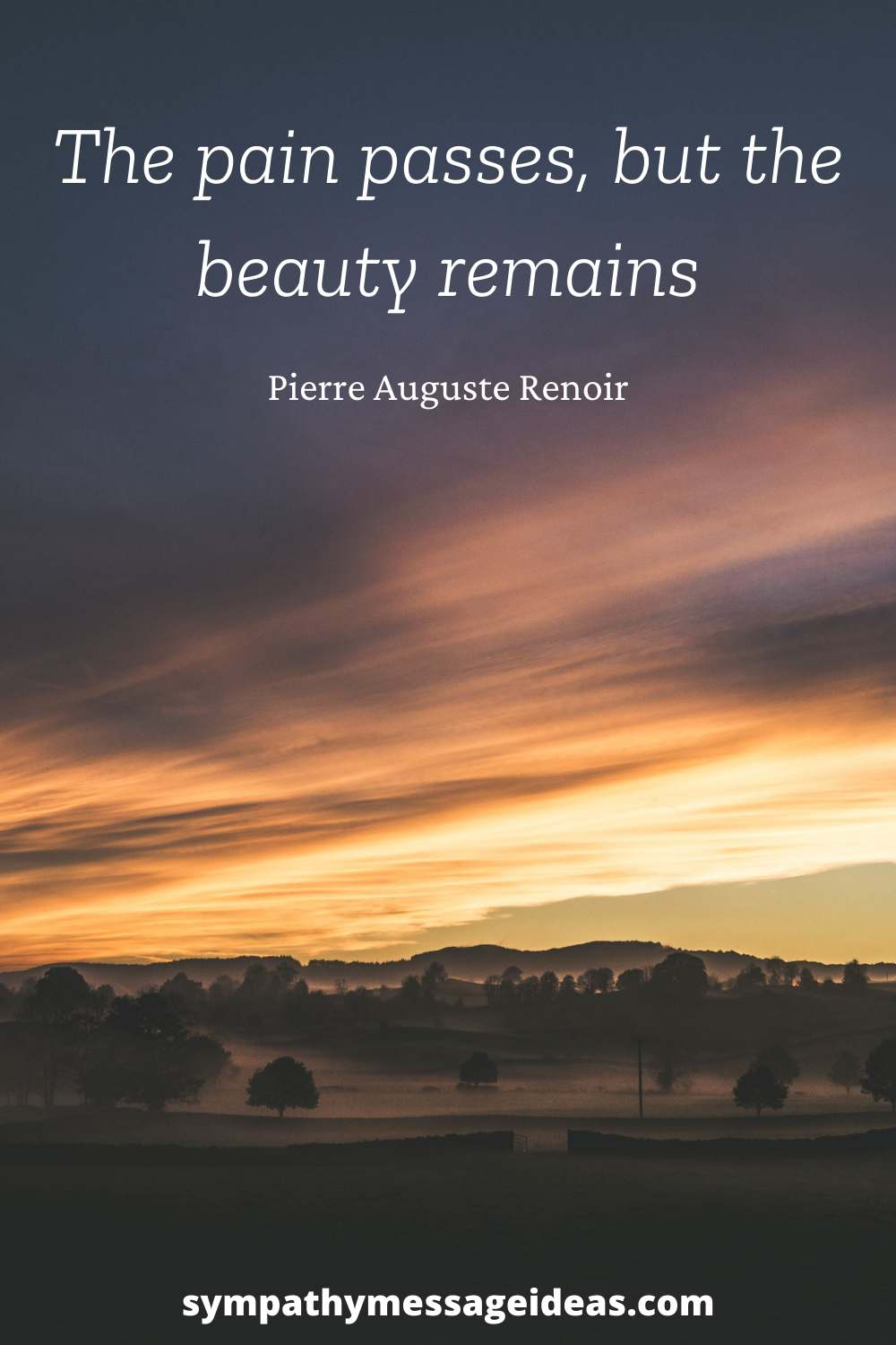 the beauty remains letting go quote